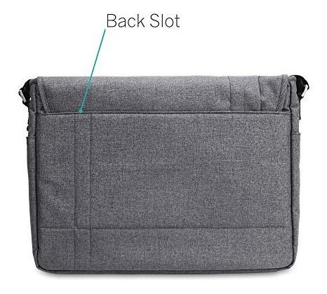 bolsa bandolera casecrown horizontal p/macbook pro/air 13 in