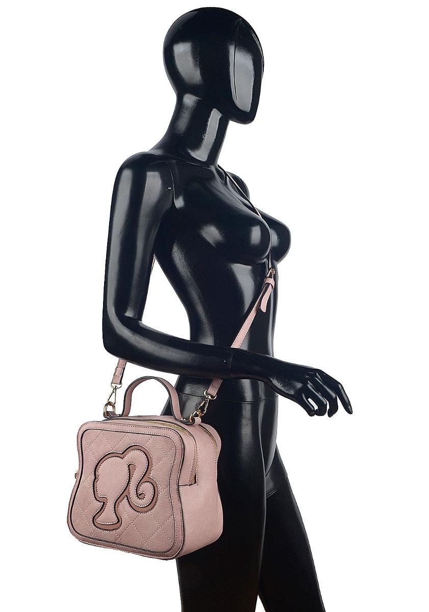 7905f7e2595d bolsa barbie alça mão transversal rosa nude nota fiscal orig. Carregando  zoom.