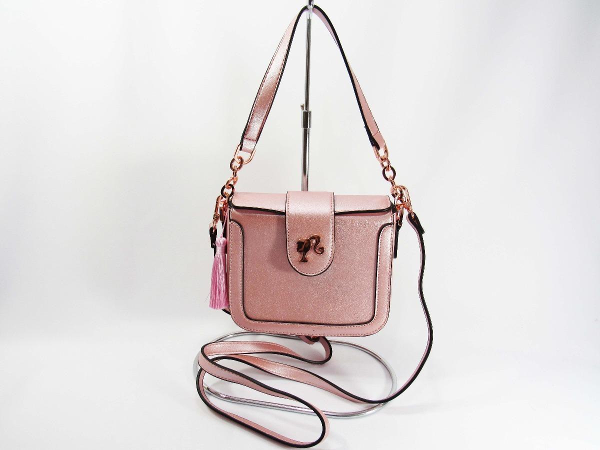 3891d8a7b Bolsa Barbie Rosa Mini De Mao E Tiracolo Gash - R$ 121,99 em Mercado ...