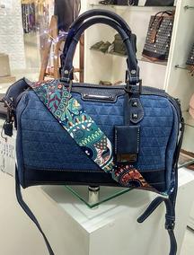 463fb8551 Bolsa Jeans Patches Bau - Calçados, Roupas e Bolsas no Mercado Livre Brasil
