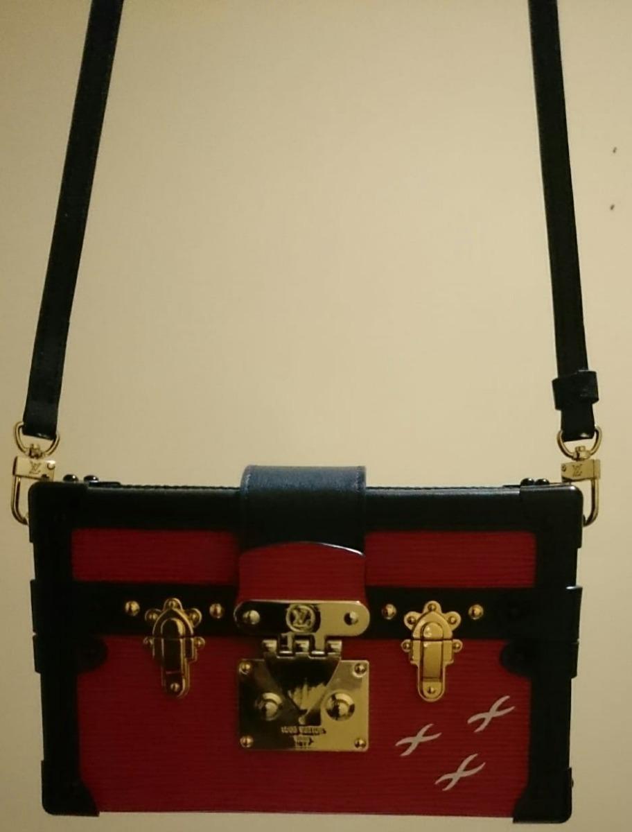 d7d03da3e Bolsa Baú Louis Vuitton Petite Malle Epi - R$ 14.400,00 em Mercado Livre