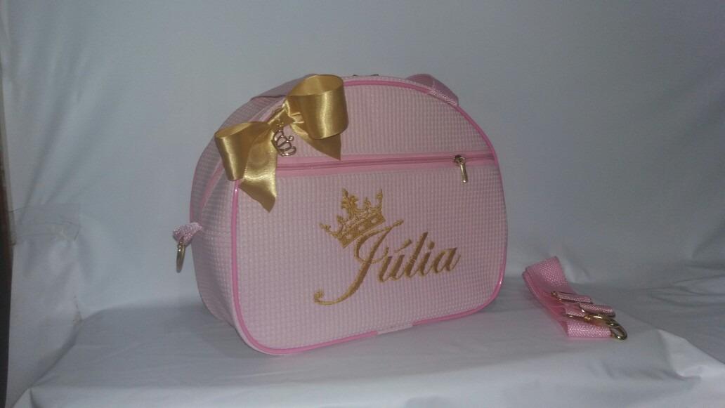 d6e9e22a3b5 bolsa bebê pequena rosa dourada menina. Carregando zoom.