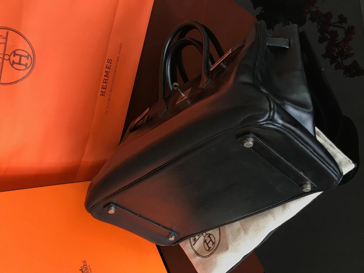 433c0b867 Bolsa Birkin Original Tamanho 35 Preta E Caramelo - R$ 30.000,00 em ...