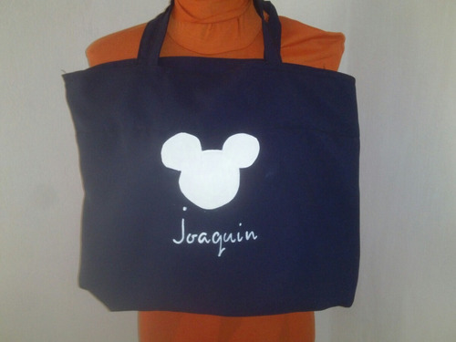 bolsa bolso para el colegio, jardin o catequesis