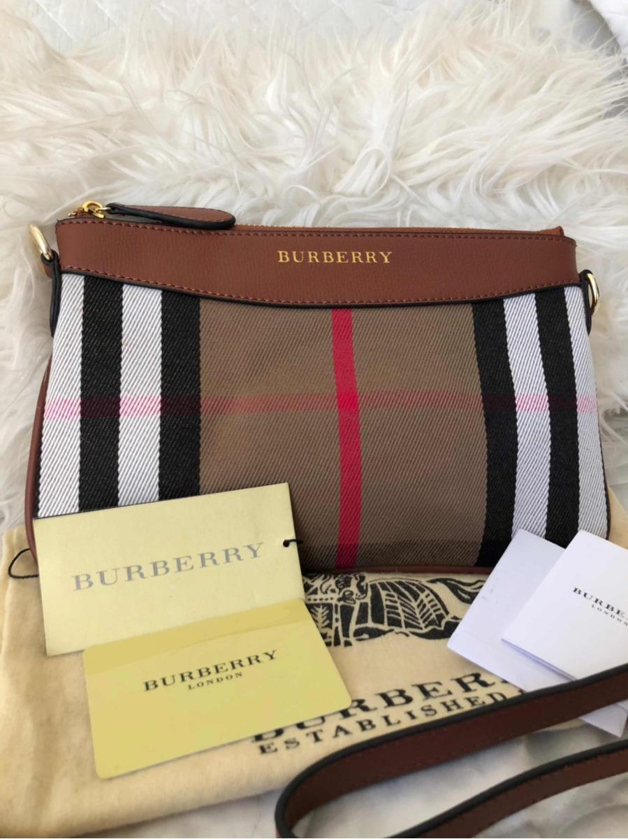 429cc8388 Bolsa Burberry Transversal - R$ 250,00 em Mercado Livre