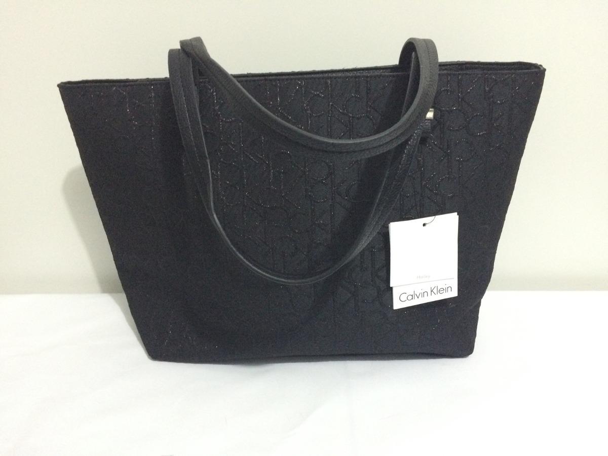 6e257d175 Bolsa Calvin Klein Preta! Original!! - R$ 450,00 em Mercado Livre