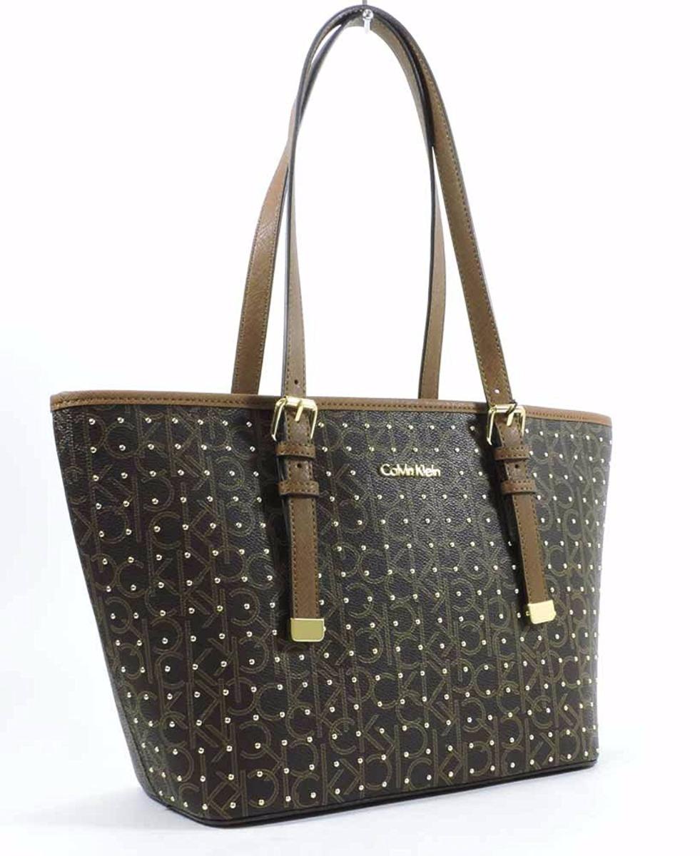 Bolsa Calvin Klein Original Marron - Importada Usa H6jaj4vg - R  419 ... 40b29e8384