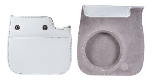 bolsa cámara instax mini 9/8/8 + / 8s smokey blanco blanco d