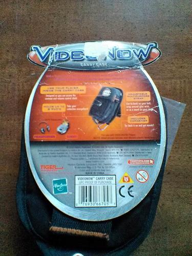 bolsa canguerera mariconera para cd video now
