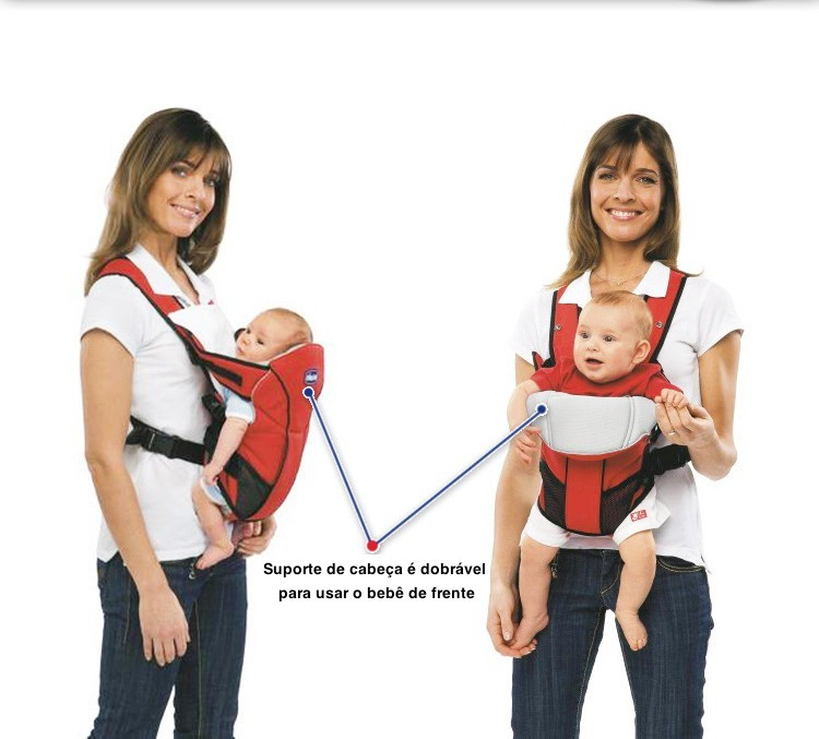 Bolsa Canguru Baby Bag Carregador De Bebe Sling Chicco