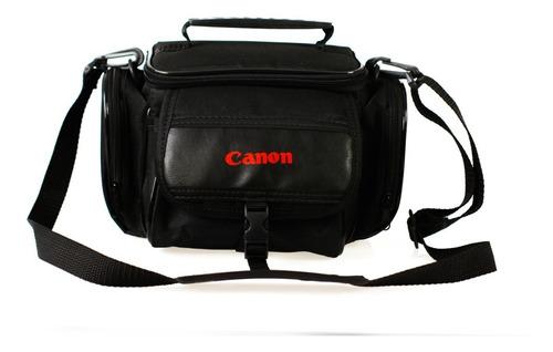 bolsa canon para cameras e acessórios t3 t4 t5 t6 t7 t6i t7i