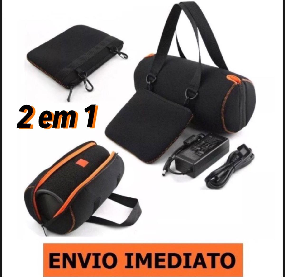b32e4c465 Bolsa Capa Case Jbl Xtreme Eva + Bolsa P/ Acessórios - R$ 119,49 em ...