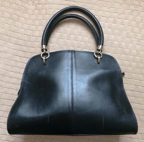Bolsa Feminina De Couro Capodarte : Bolsa capodarte couro preta r em mercado livre