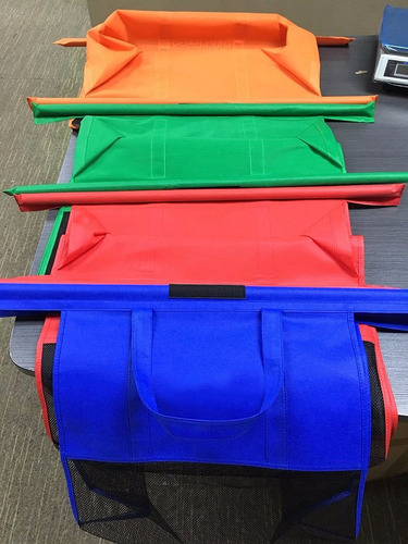 bolsa carrito changuito super bags set completo trolley bag