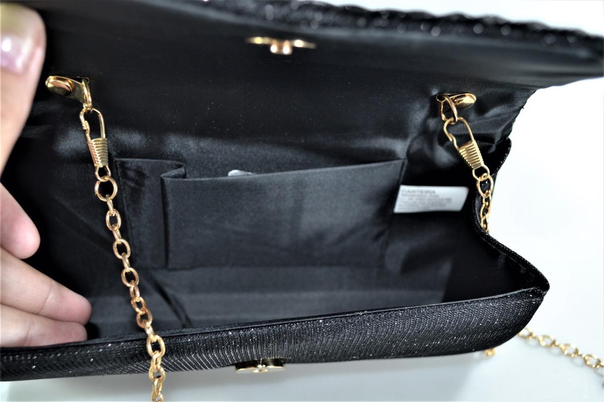 a29b51bd0 bolsa carteira de festa brilhante preta vermelha prata linda. Carregando  zoom.