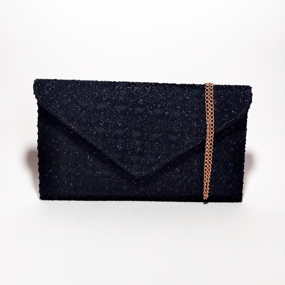585c14e03 bolsa carteira de festa clutch envelope renda com brilho. Carregando zoom.