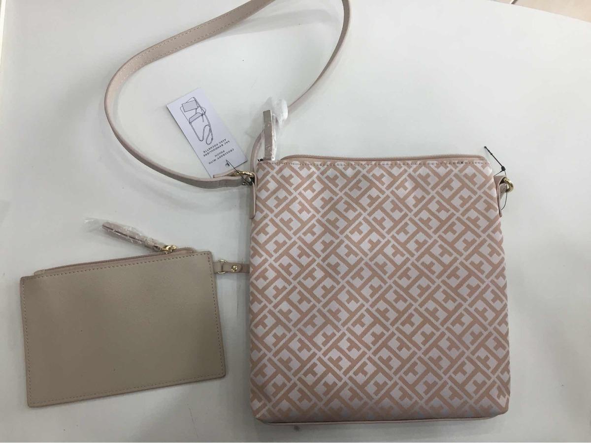 94829178d Carregando zoom... carteira feminina bolsa. Carregando zoom... bolsa c/ carteira  tommy hilfiger feminina rosé e branca