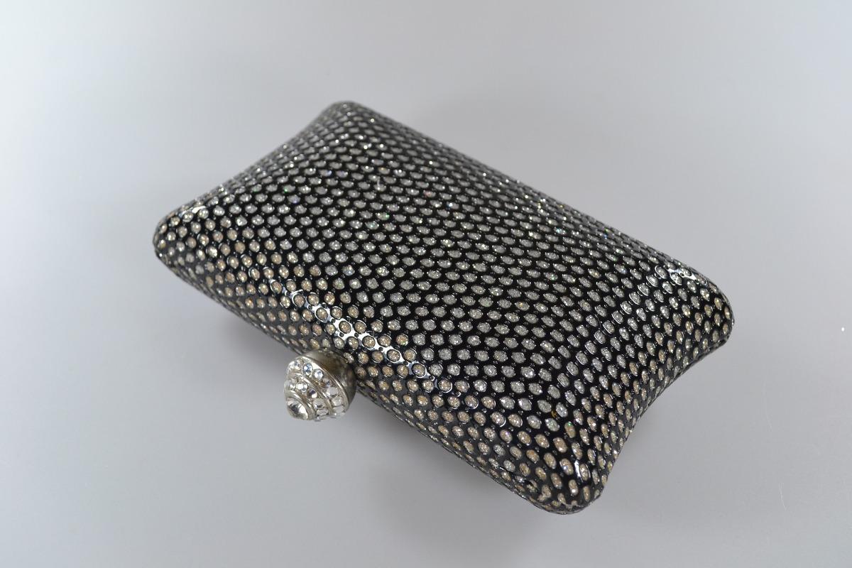 b15275d05 bolsa carteira feminina festa couro sintético brilho preto. Carregando zoom.