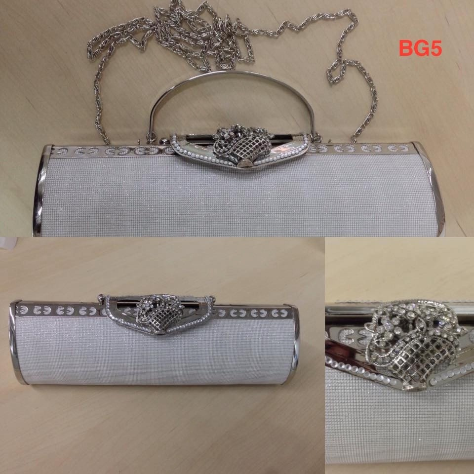 Bolsa De Festa Sp : Bolsa carteira para festa casamento prata ou dourada r