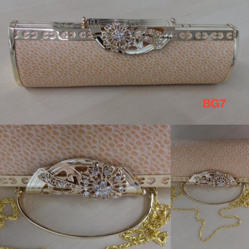 Bolsa Dourada Para Festa : Bolsa carteira para festa casamento prata ou dourada r