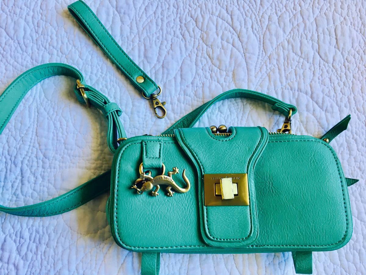 37351e041 Bolsa Carteira Verde Fellipe Krein - R$ 65,00 em Mercado Livre