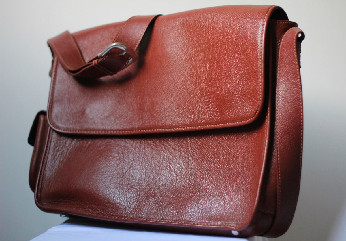 Bolsa De Couro Masculina Mercado Livre : Bolsa carteiro couro legitimo masculina r em