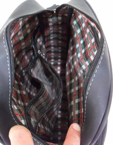 bolsa carteiro pasta escolar couro sintético masculino femin