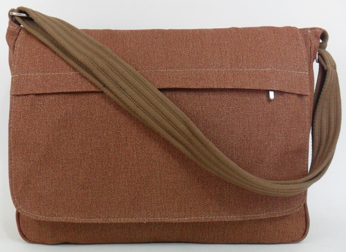 bc67cb20c bolsa carteiro pasta tiracolo lona resistente fem masculino. Carregando  zoom.