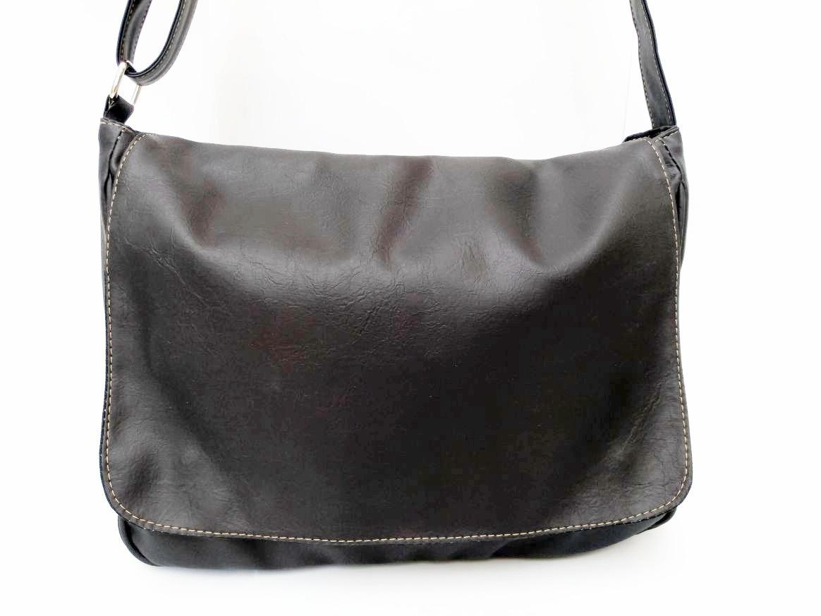 23f849c77 bolsa carteiro pasta tiracolo masculino fem couro sintético. Carregando  zoom.