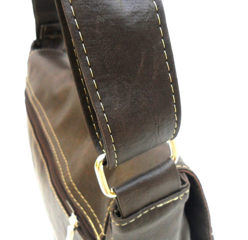 bolsa carteiro pasta tiracolo-masculino feminino couro sint.