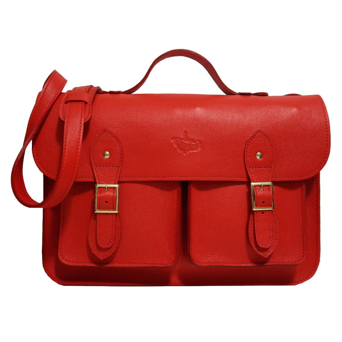 f55910882 bolsa carteiro satchel bolsos couro legítimo bovino grande. Carregando zoom.