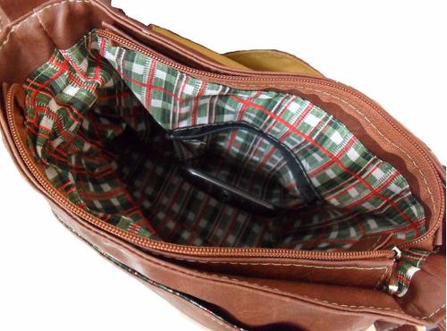 bolsa carteiro tiracolo média couro sintético masculino femi