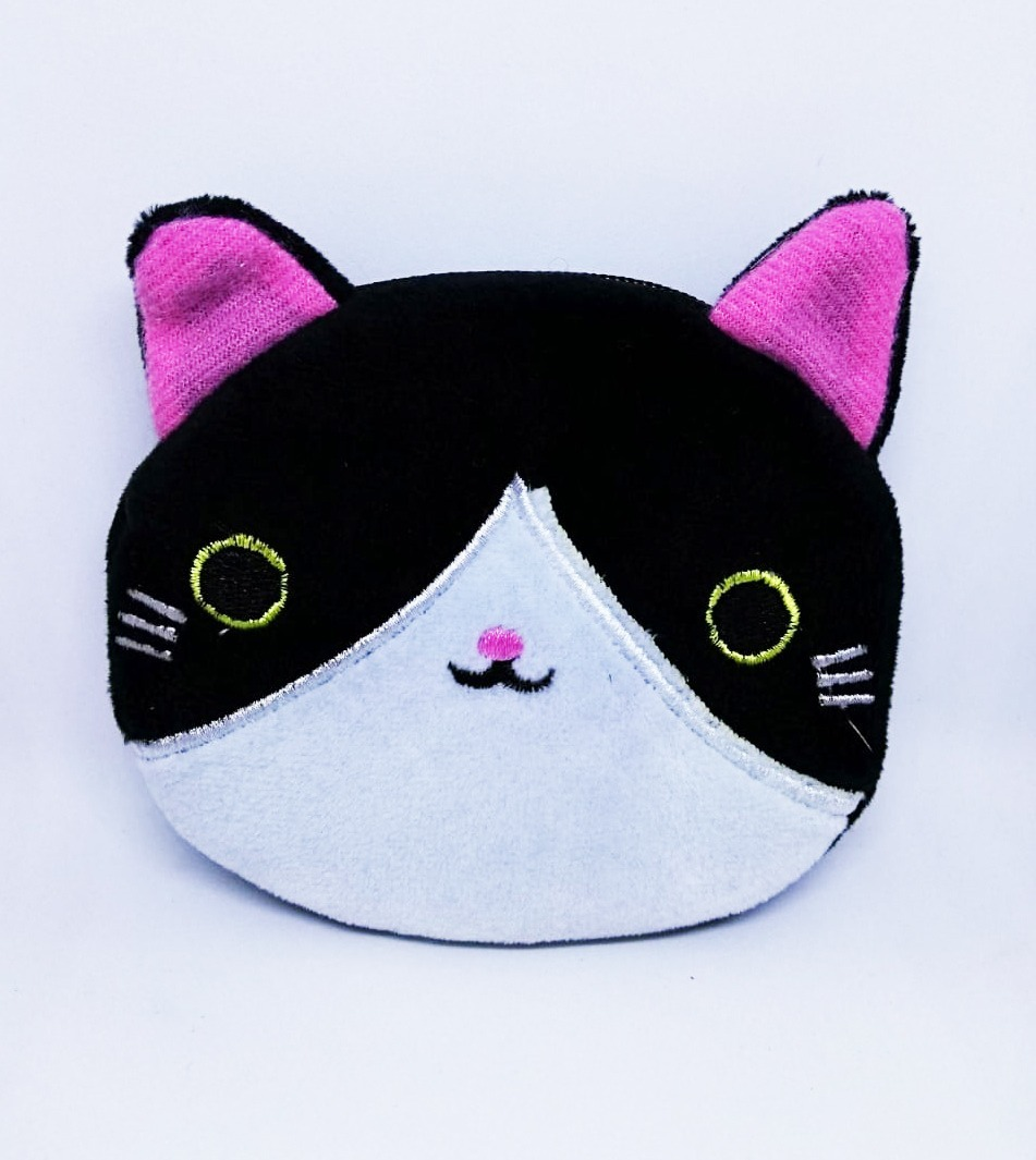 d9081532b bolsa cartera para niñas cara de gato cat felpa kawaii cute. Cargando zoom.