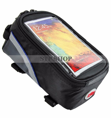 bolsa case capa celular iphone galaxy sony bike bicicleta