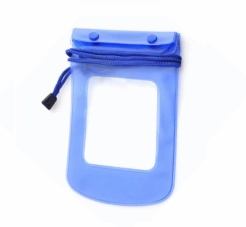 bolsa case capa prova d`água estanque universal celular