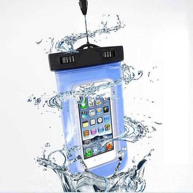 96be42b1be1 Bolsa Case Capa Prova D`água Estanque Universal Celular - R$ 15,99 em  Mercado Livre