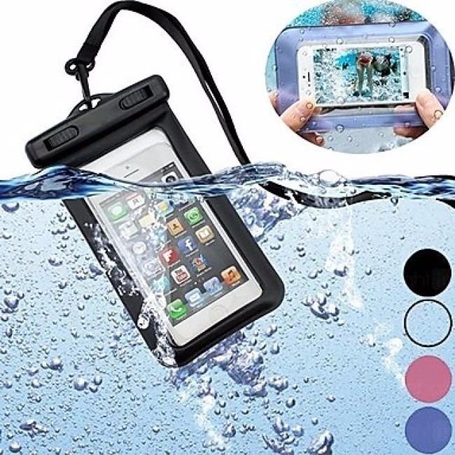 53105658bbe Bolsa Case Capa Prova D`água Estanque Universal Celular - R$ 11,47 ...