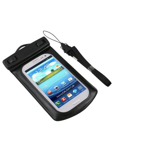 bolsa case estanque prova d'água iphone 4s 5 s5 s4 fret 7,00