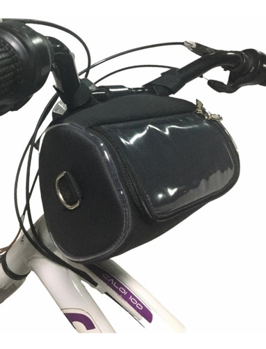 bolsa case i porta celular sustentável p/ bike i bicicleta