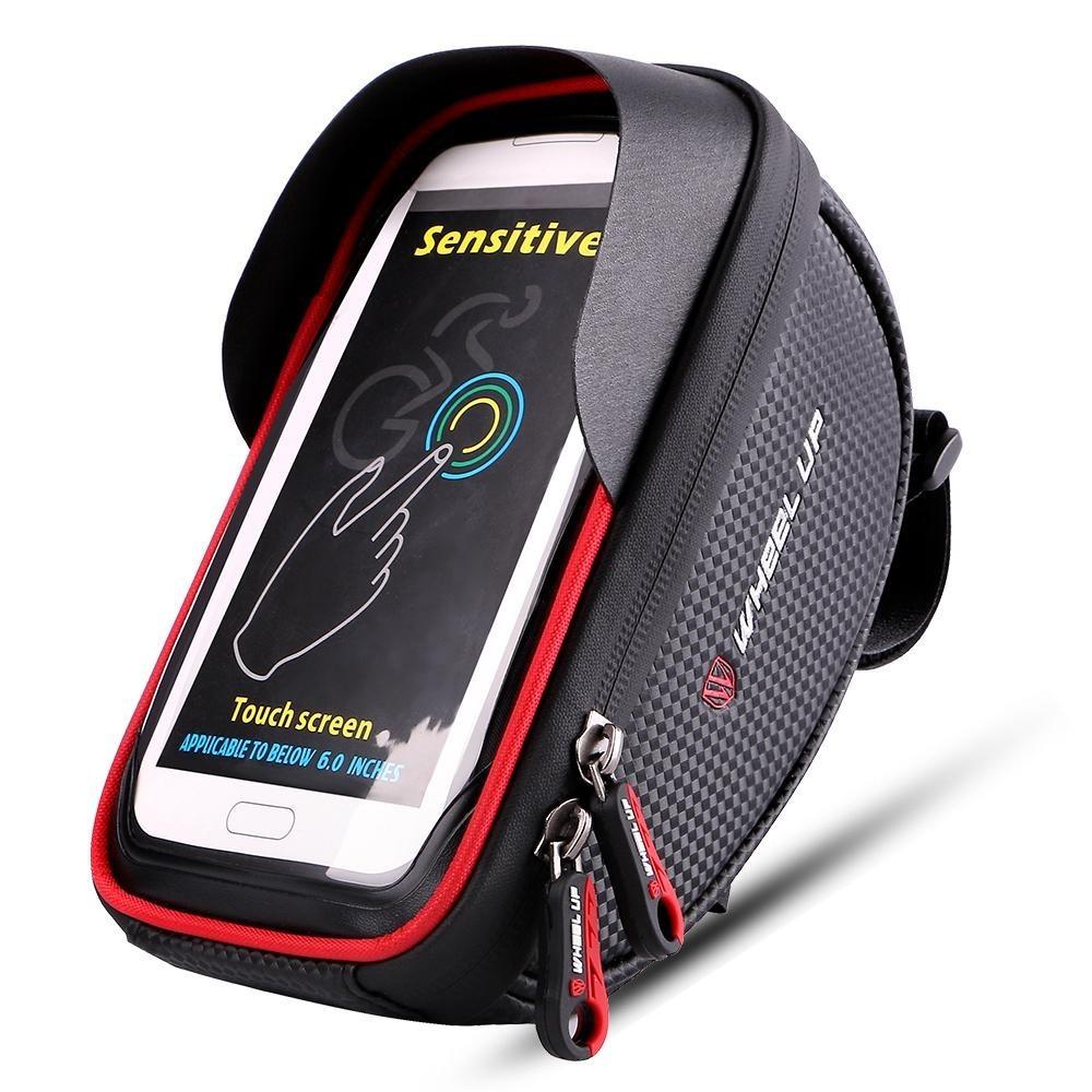 1deaa638d4b bolsa case porta celular suporte quadro bike bicicleta phone. Carregando  zoom.