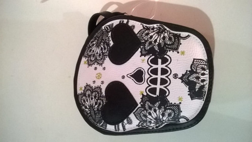 bolsa caveira rock pin up