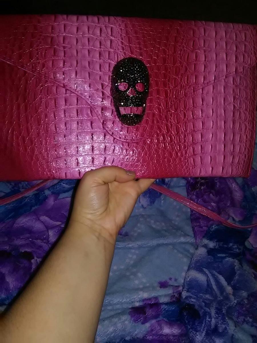 620d98fa1 Bolsa Caveira Rosa - R$ 55,00 em Mercado Livre