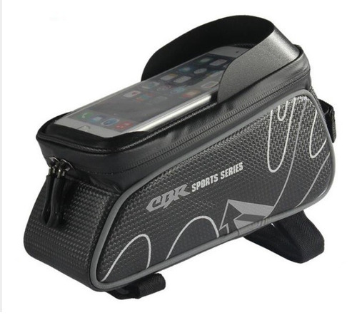 bolsa cbr sports series quadro p/ smartphone ciclismo bike