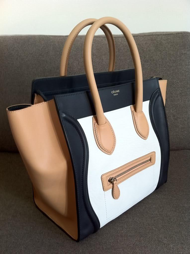 88d48f671 Bolsa Celine Luggage Tricolor ! Pronta Entrega.100%original - R ...