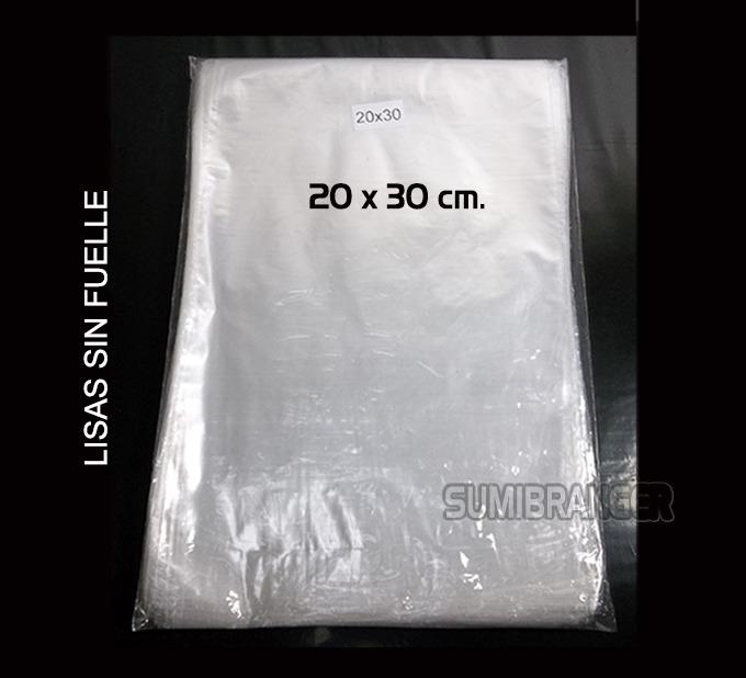 04261f676 Bolsa Celofán Transparente 20x30 Cm Paquete 100 Bolsas - Bs. 24.772,00 en  Mercado Libre
