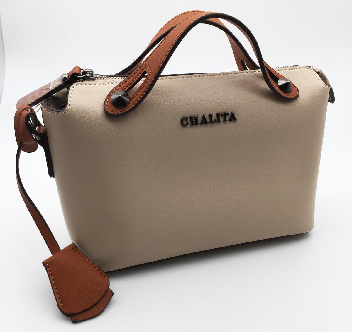 6f4023679 Bolsa Chalita Bege Ch1003 - R$ 172,90 em Mercado Livre
