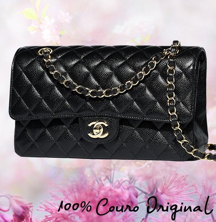 cdc0fa554 Bolsa Chanel 2.55 Classic Jumbo Maxi Caviar Entrega Imediata - R ...
