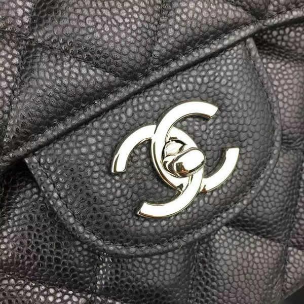f7a057e4b Bolsa Chanel 2.55 Classic Jumbo Maxi Caviar Pronta Entrega - R ...