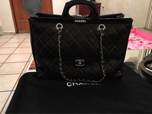 bolsa chanel cc shopping edición limitada 100% original