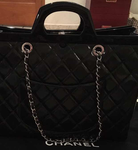 bolsa chanel cc shopping edición limitada 100% original